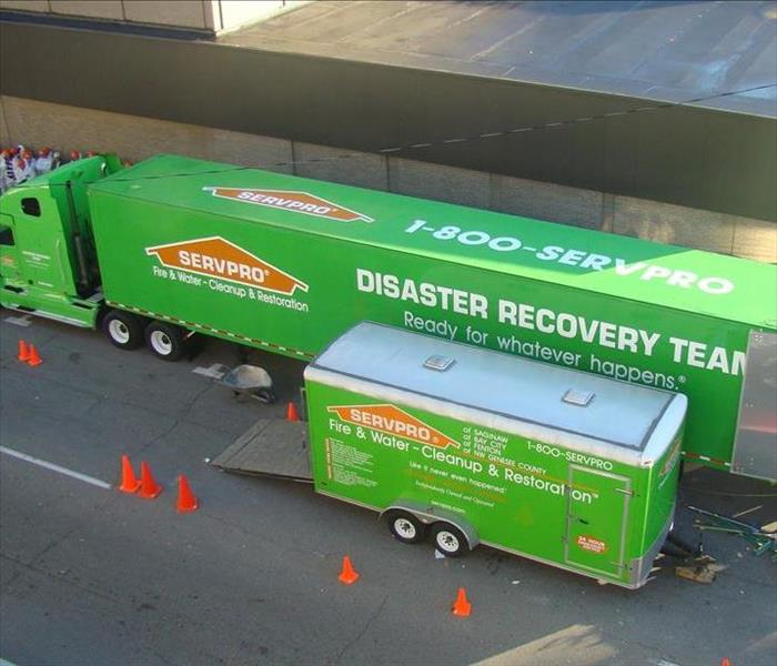 Storm Damage SERVPRO's Disaster Recovery Team, Ready for whatever happens.®