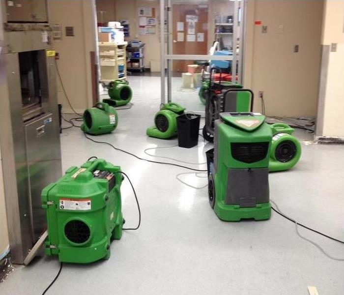 Water Damage Commercial Water Restoration